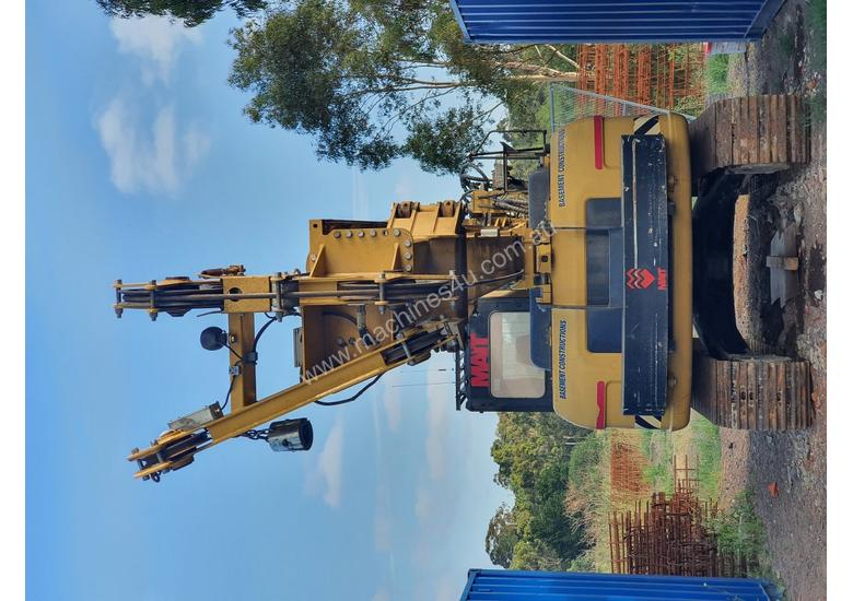 Mait MC45 CAT base Drilling Rig (Kelly + CFA + Augers + computer)