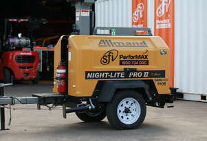 Ex Hire Night-Lite PRO II® V-SERIES® Lighting Tower 6 Available for Sale
