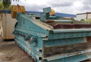LUDOWICI MPE 2400 x 4800 x 2 DECK VIBRATING DEWATERING SCREEN