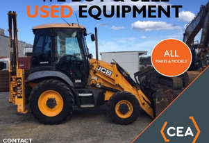 WE BUY USED BACKHOE - ALL MAKES AND MODELS