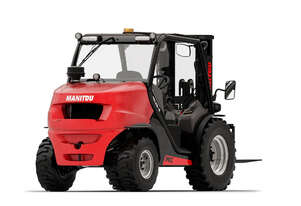 2.5tons Manitou rough terrain forklift with triplex free-lift container mast