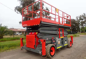 Skyjack SJ9250 Scissor Lift Access & Height Safety