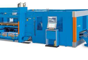 Combination Turret and Fiber laser with servo-electric motors - VERY low power usage