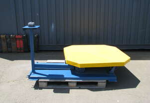 Motorised Pallet Turntable - 1235 x 1235mm