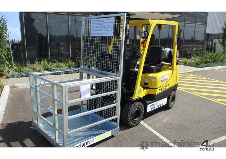Forklift Safety Cage Hire