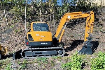 2011 HYUNDAI R80CR-9 FOR SALE -- ONLY 100hrs on the clock