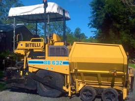 Reconditioned Bitelli BB632 Asphalt Paver for sale