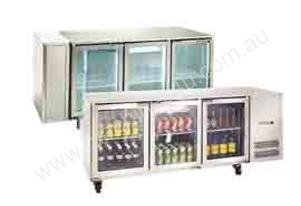 BR2R Two Door Boronia Undercounter fridge
