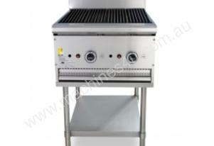 Trueheat B60 Gas Heated BBQ Mounted On A Stand