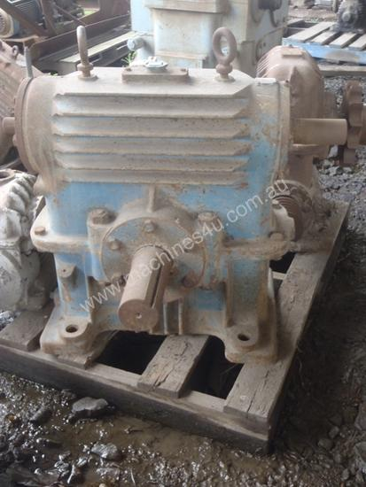 Worm Overdriven Gearbox