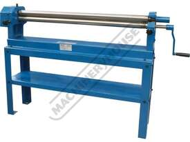 SRG-40 Manual Sheet Metal Curving Rolls 1000 x 1.2mm Mild Steel Capacity - picture0' - Click to enlarge
