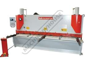 HG-3212VR Hydraulic NC Guillotine - Variable Rake 3200 x 12mm Mild Steel Shearing Capacity 1-Axis Ez - picture2' - Click to enlarge