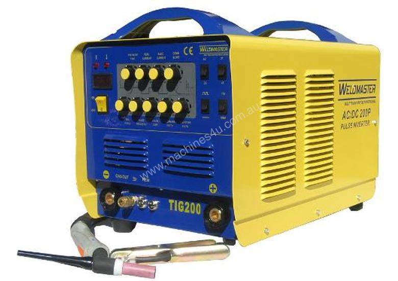 Weldmaster 200amp AC/DC Tig Welder with Pulse