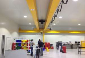 James Crane Double Girder Overhead Crane