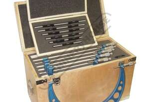 20-118 Metric Outside Micrometers - 6 Piece Set  150-300mm Range