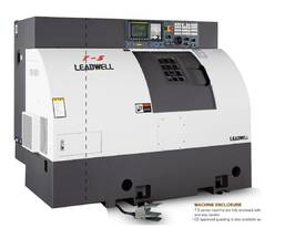 LEADWELL T-5 SLANT BED LINEAR GUIDE CNC LATHE - picture0' - Click to enlarge