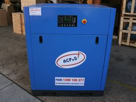 German Rotary Screw - Variable Speed Drive 30hp / 22kW Rotary Screw Air Compressor... Power Savings - picture1' - Click to enlarge