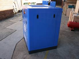 German Rotary Screw - Variable Speed Drive 30hp / 22kW Rotary Screw Air Compressor... Power Savings - picture2' - Click to enlarge