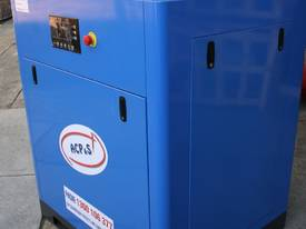 German Rotary Screw - Variable Speed Drive 30hp / 22kW Rotary Screw Air Compressor... Power Savings - picture0' - Click to enlarge