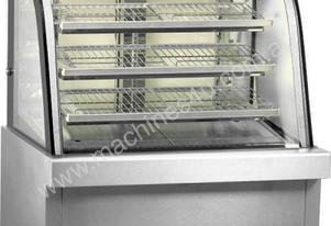 F.E.D. GG120FE-2XB Heated Curved Glass Food Display - 1200mm