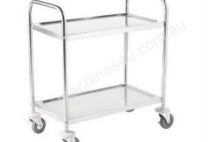 2 Tier Clearing Trolley Small Vogue F996