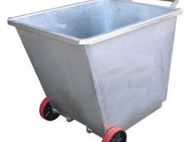 Light Weight Forklift Skip Waste Bin 0.5m2 with Wh - picture0' - Click to enlarge