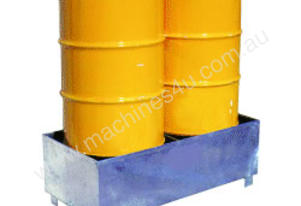 Drum Storage Spill Containment Stand (2 Drums)