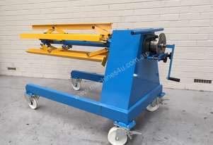 Manual Overhung Decoiler 1250 mm x 1Ton