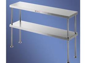 S/Steel Double Bench Overshelf - picture0' - Click to enlarge