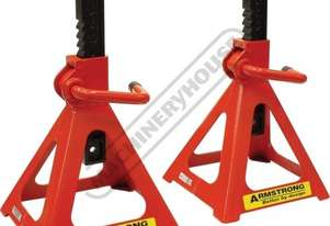 ARMAS5000R Professional Vehicle Axle Stands 5000kg Working Load Capacity per Stand