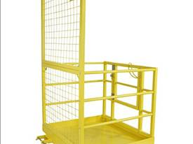 Safety Cage Work Platform Flatpack W/H Tool Tray  - picture10' - Click to enlarge