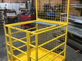Safety Cage Work Platform Flatpack W/H Tool Tray  - picture0' - Click to enlarge