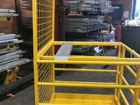 Safety Cage Work Platform Flatpack W/H Tool Tray  - picture4' - Click to enlarge