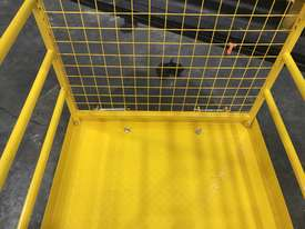 Safety Cage Work Platform Flatpack W/H Tool Tray  - picture5' - Click to enlarge