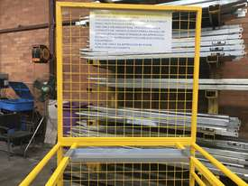 Safety Cage Work Platform Flatpack W/H Tool Tray  - picture6' - Click to enlarge