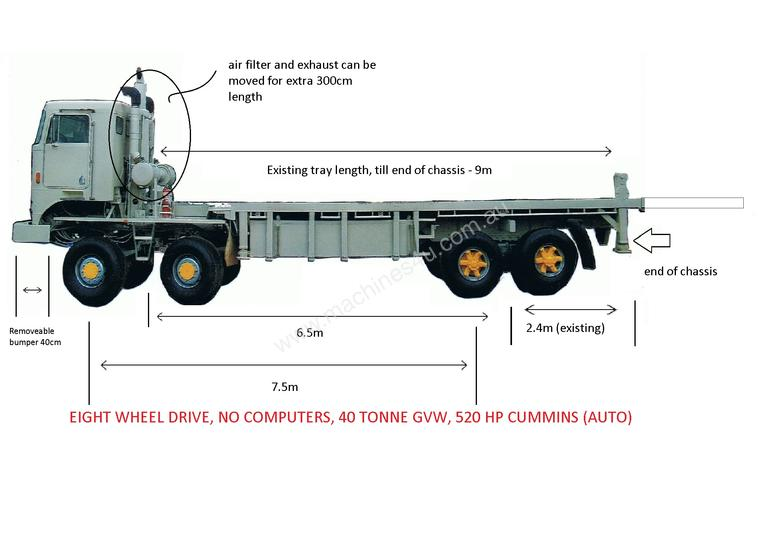 Used 1995 Kenworth K14ge Flatbed Truck In Listed On
