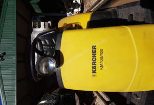 Karcher KM100/100r Sweeper.  used