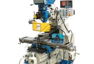 BM-53VE Turret Milling Machine (X) 910mm (Y) 400mm (Z) 385mm Includes Digital Readout, Vice & Clamp
