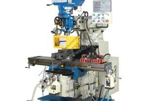 BM-53VE Turret Milling Machine (X) 910mm (Y) 400mm (Z) 415mm Includes Digital Readout, Vice & Clamp