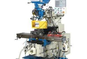 BM-53VE Industrial Turret Milling Machine Table Travel: (X) - 910mm (Y) - 400mm (Z) - 415mm Includes