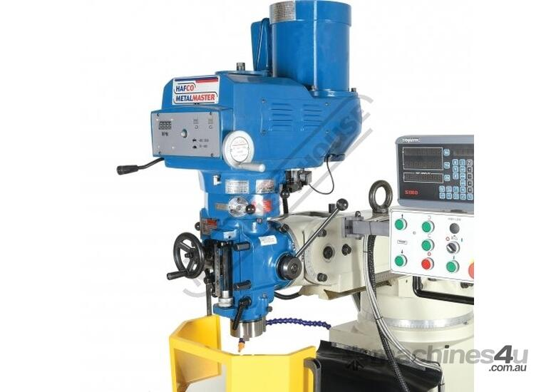 BM-53VE Turret Milling Machine (X) 910mm (Y) 400mm (Z) 415mm Includes Digital Readout System, Vice &