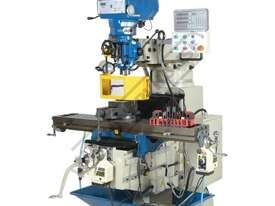 BM-53VE Turret Milling Machine (X) 910mm (Y) 400mm (Z) 415mm Includes Digital Readout, Vice & Clamp  - picture0' - Click to enlarge