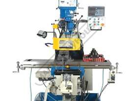 BM-53VE Turret Milling Machine (X) 910mm (Y) 400mm (Z) 415mm Includes Digital Readout, Vice & Clamp  - picture2' - Click to enlarge