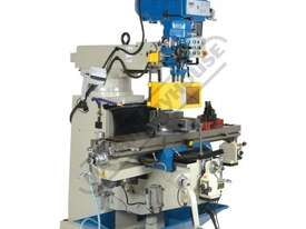 BM-53VE Turret Milling Machine (X) 910mm (Y) 400mm (Z) 415mm Includes Digital Readout, Vice & Clamp  - picture3' - Click to enlarge