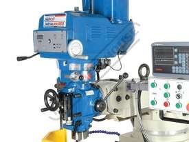 BM-53VE Turret Milling Machine (X) 910mm (Y) 400mm (Z) 415mm Includes Digital Readout, Vice & Clamp  - picture4' - Click to enlarge