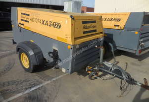Atlas Copco XAS137DD Air Compressor