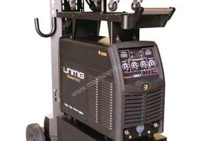 Unimig Inverter 350 SWF Mig Welder inc Trolley
