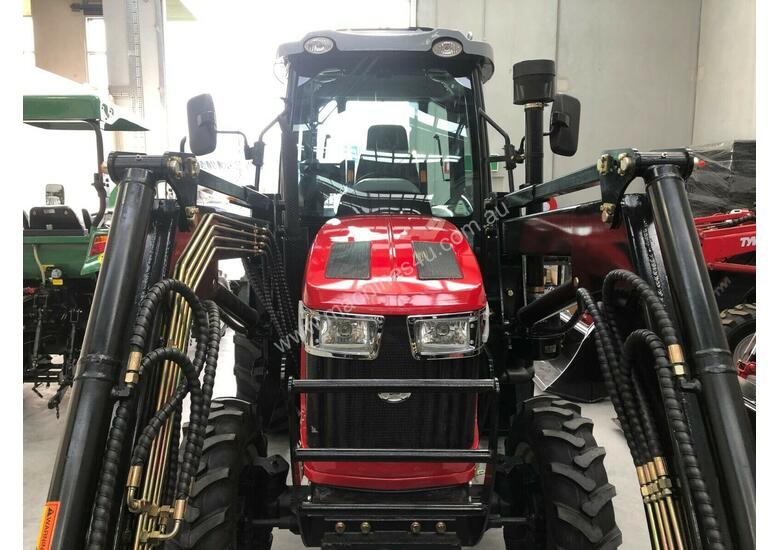 New Huaxia 70hp Cabin Tractor with front end loader & 3 year warranty