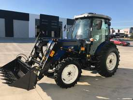 New Huaxia 70hp Cabin Tractors with front end loader & 3 year warranty - picture0' - Click to enlarge