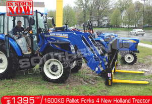 1600kg New Holland Tractors Pallet Forks Loader ATTFOK